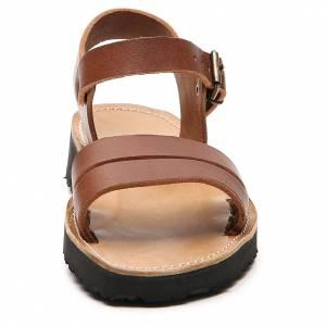 Sandales franciscains mod. Bethléem cuir Moines de Bethléem s4