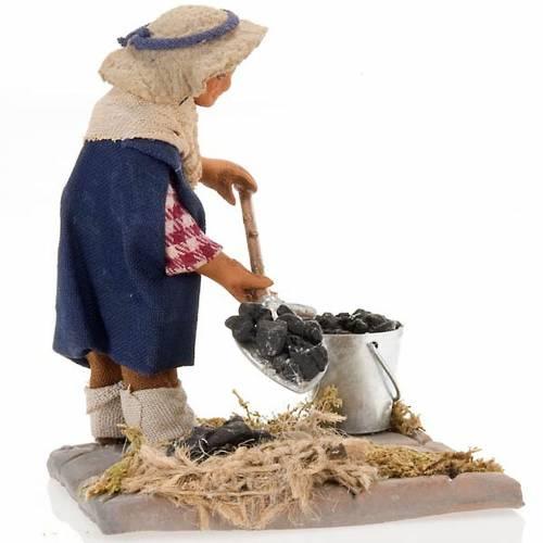 Santon charbonnier crèche Napolitaine 10 cm 4
