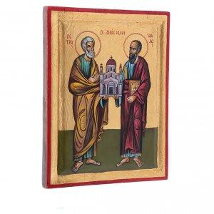 Íconos Pintados Grecia: Santos Pedro y Pablo