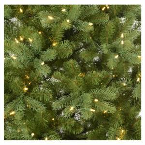Sapins de Noël: Sapin de Noël 210 cm Poly vert memory shape éclairage Bleutooth