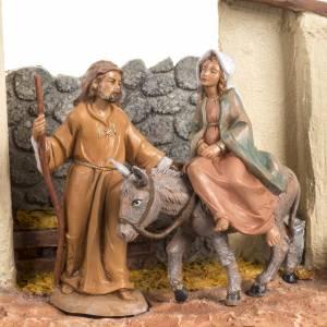 Statue in resina e PVC: Scena cerca alloggio 12 cm Fontanini