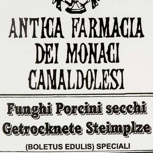 Setas porcini secas italianas. Camaldoli s3