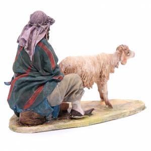 Shepherd milking 18cm by Angela Tripi s3