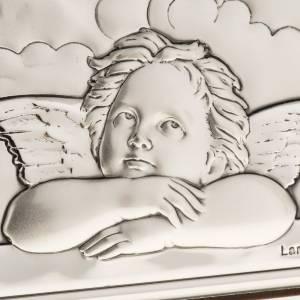 Silver Bas Relief- Raffaello's angels s4