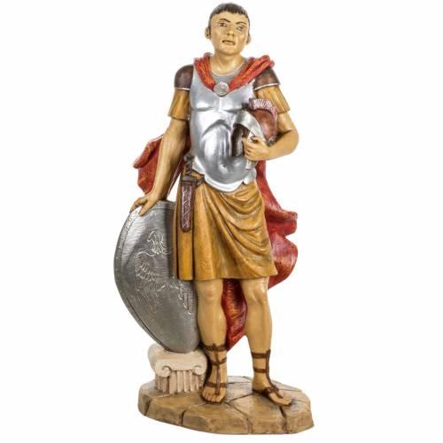 Soldat roman crèche Fontanini 65 cm résine s1