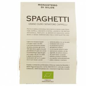 Spaghetti grano duro Monastero Siloe 250gr s3