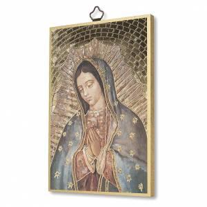Quadri, stampe, codici miniati: Stampa su legno Madonna di Guadalupe