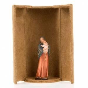 Statua bijoux Maria con scatola nicchia s4