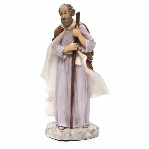 Statua Giuseppe per presepe 65 cm s1