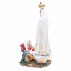 Statua Madonna Fatima 30 cm resina s3