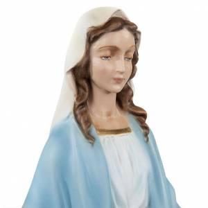Statue in polvere di marmo di Carrara: Statua Madonna Immacolata marmo sintetico 40 cm