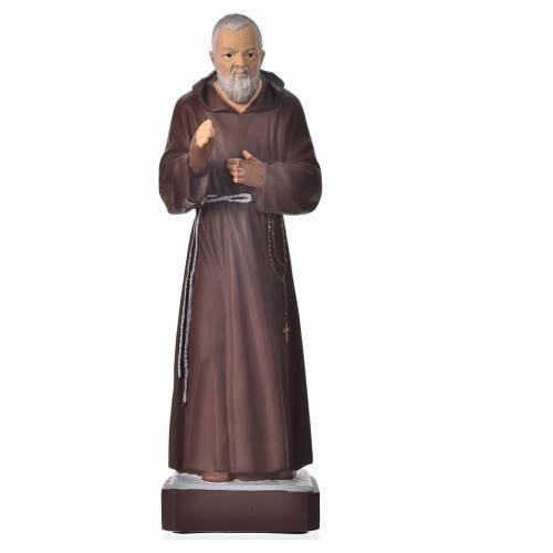 Statua Padre Pio 30 cm materiale infrangibile s1
