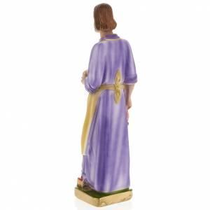Statua San Giuseppe lavoratore 30 cm gesso s4