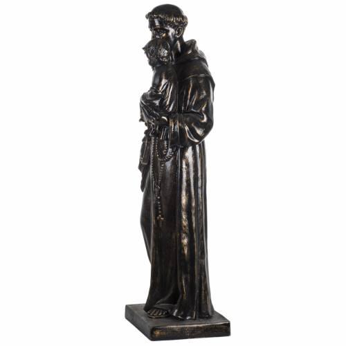 Statua Sant'Antonio 100 cm finitura bronzo Fontanini s4