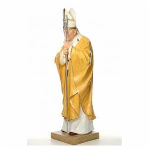 Fiberglas Statuen: Statue Johannes Paul II Fiberglas 165cm
