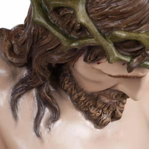 Fiberglas Statuen: Statue Leib Christi 160 cm Fiberglas