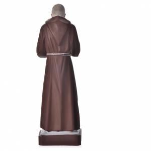 Statue Padre Pio 30 cm pvc incassable s2