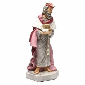 Statue Roi Mage Gaspard pour crèche 65 cm s4