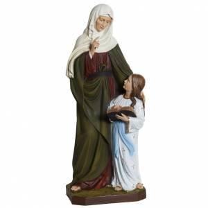 Statue Sainte Anne fibre de verre 80 cm s1