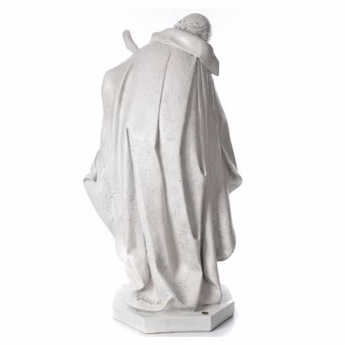 STOCK Nativité 125 cm résine Fontanini fin. Carrare s3