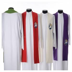 Priesterstolen: STOCK Stola Jubilaeum der Barmherzigkeit 100% Polyester