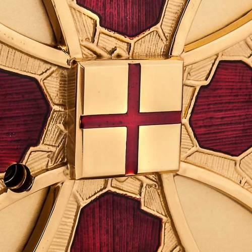 Tabernacle de table , vernis rouge s4