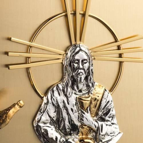 Tabernacle laiton fondu doré Jesus s3