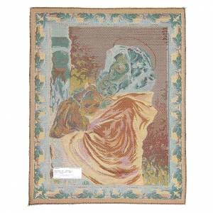 Tapisseries religieuses: Tapisserie Madonnina de Ferruzzi 65x50 cm