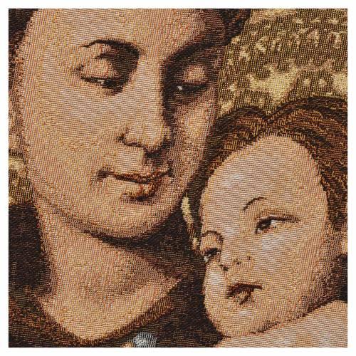 Tapisserie St Antoine de Padoue 35x50cm s2