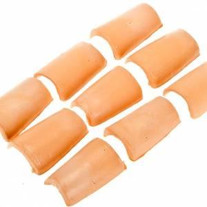 Tejas de plástico conjunto 24 piezas s1