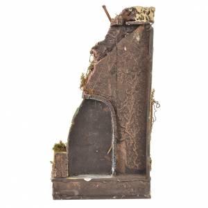 Tempio antico presepe sughero 30x15x12 s3