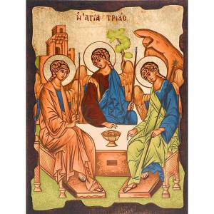 Greek Icons: The Holy Trinity of Rublev