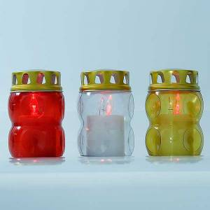 Votive candles: THROWAWAY LED votive candle, 100 days