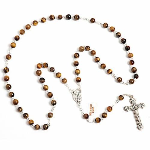 Tiger-eye rosary s1