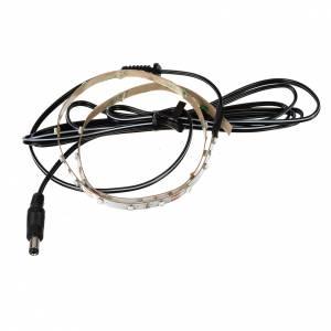 Controladores para el Belén: Tira de LED Power 'PS' 30 LED 0.8 x 50 cm. azul Frial Power