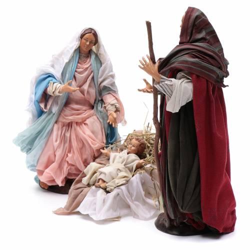 Traditional Nativity 30cm s3