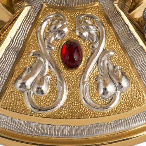 Trono latón con baser bronce 4 Evangelistas s7