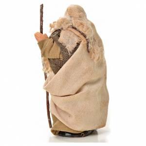 Uomo con bastone 6 cm presepe napoletano s2