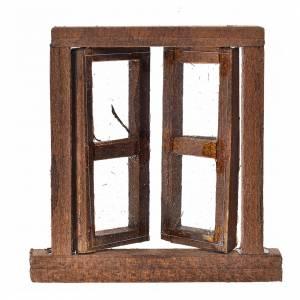 Barandillas, puertas, balcones: Ventana belén 2 ante con clavados 6.5x6.5 cm