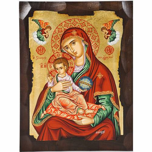 Icona Vergine Glikasmos Grecia s1