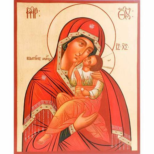 Vierge de la clémence 30x36 cm s1