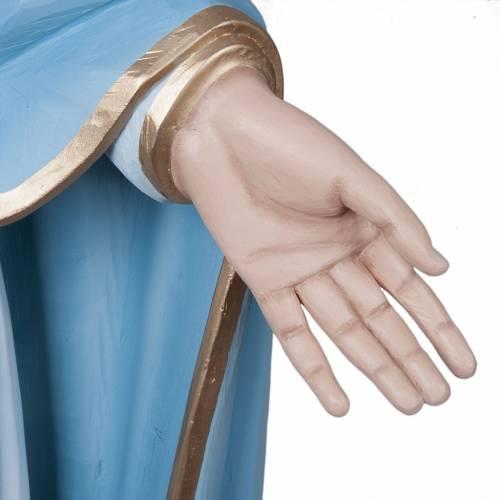 Vierge Miraculeuse statue fibre de verre 160cm s6
