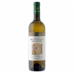 Les vins rouges et blancs: Vin Toscan Blanc 2015 Abbaye Monte Oliveto 750 ml