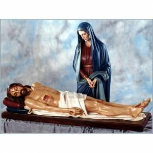 Virgen de los Dolores y Jesús fibra de vidrio Landi s1
