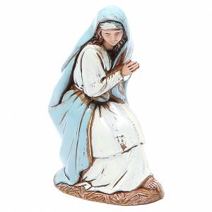 Virgen María 10 cm belén Moranduzzo en trajes de época s1