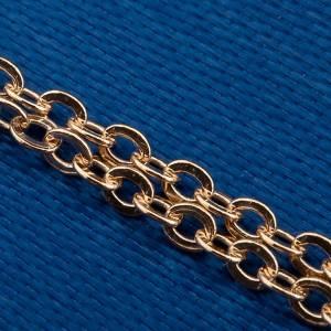 Virgen Milagrosa collar oro 750/00 - gr 1,30 s4