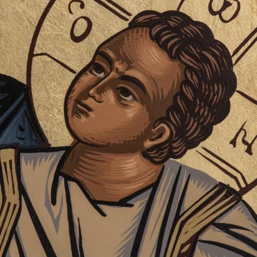 Virgin Mary Eleusa icon, Greece, silkscreen printing s3