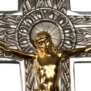 Vortragekreuze und Ständer: Vortragekreuz aus Bronze zwei Finish