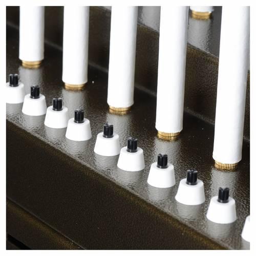 Votivo elettrico offerte a 31 candele lampadine 12 V pulsanti s8