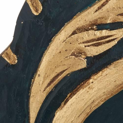 Vreko Fratusa, Greek icon, screenprinted and painted s4